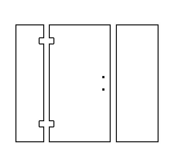 Shower Door Design Tool - Panel/Door/Panel