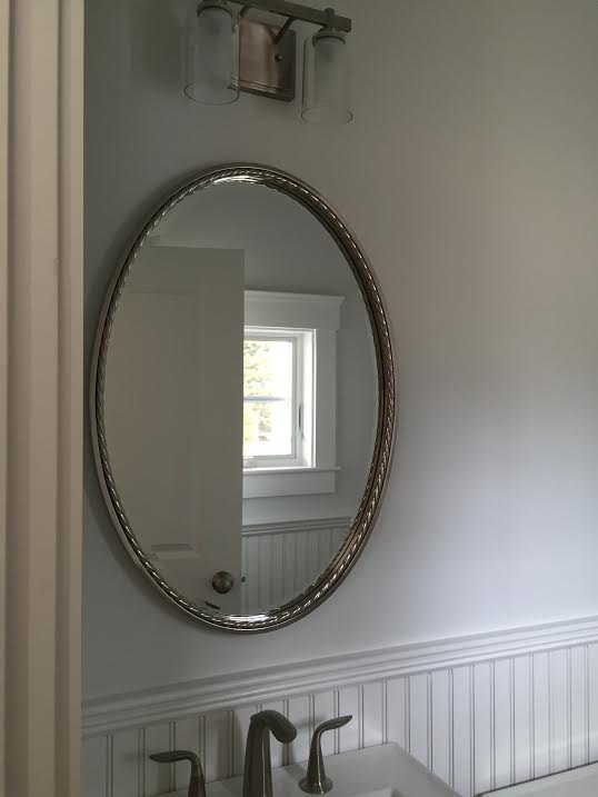 Uttermost beveled oval mirror