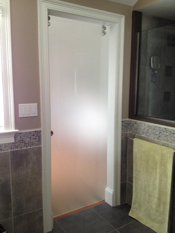 Residential Glass - Interior view laguna door