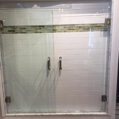 Shower Door - Clear vs Low Iron