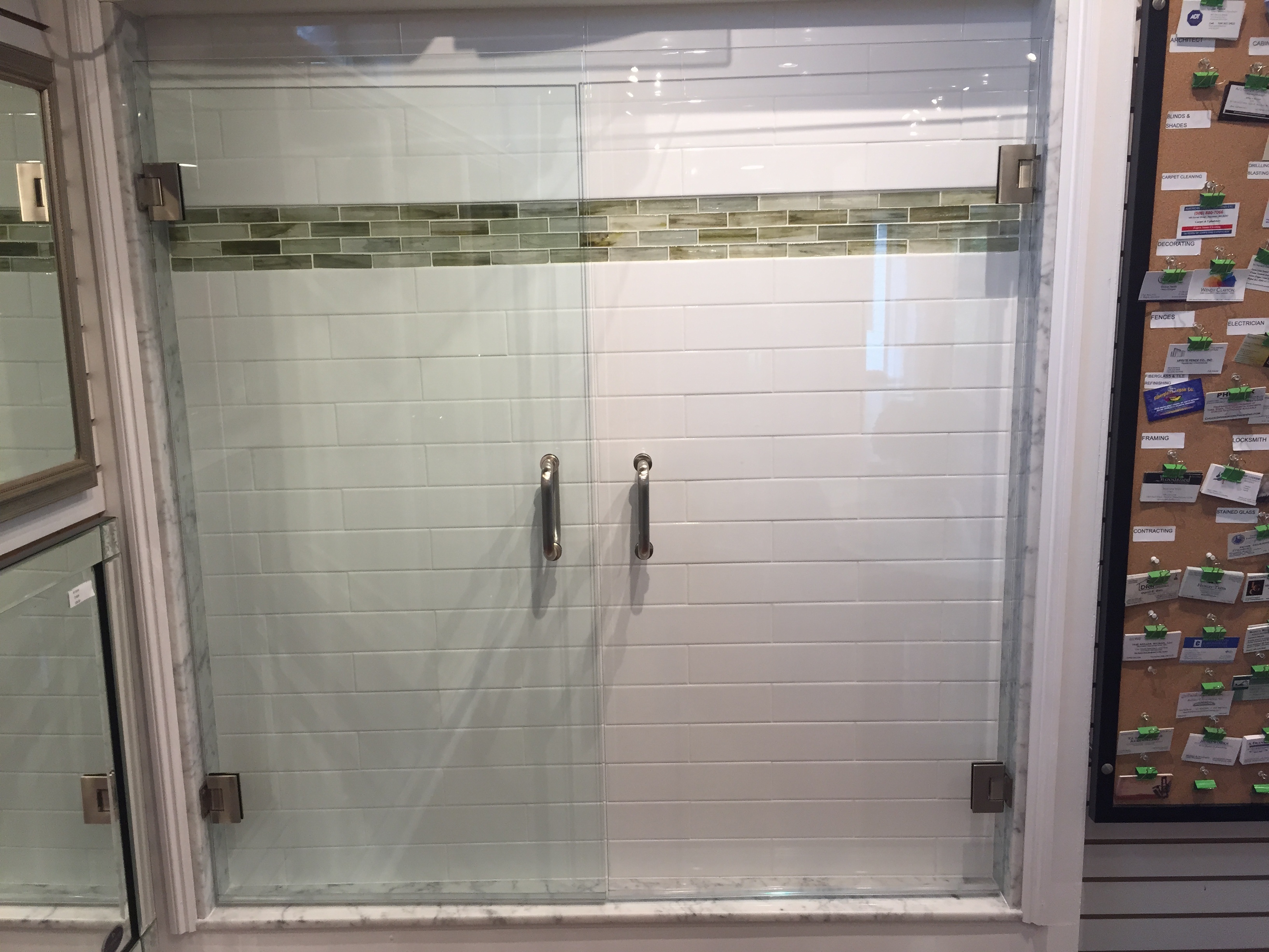 Glass shower door gallery franklin glass company shower door clear vs low iron planetlyrics