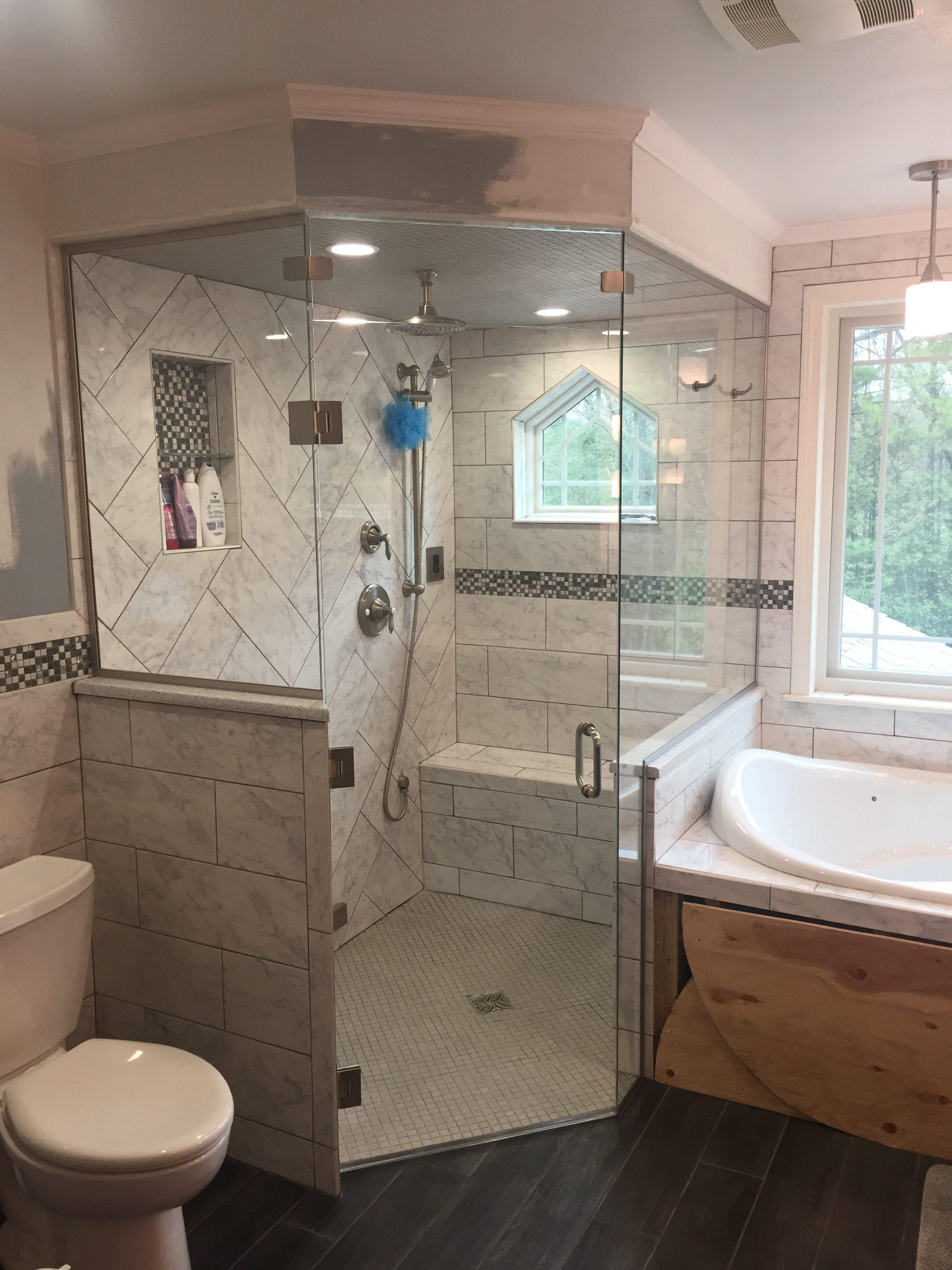 Shower Door - Low iron