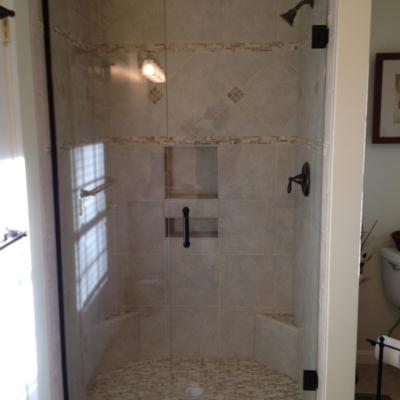 Shower Door - stationary panel