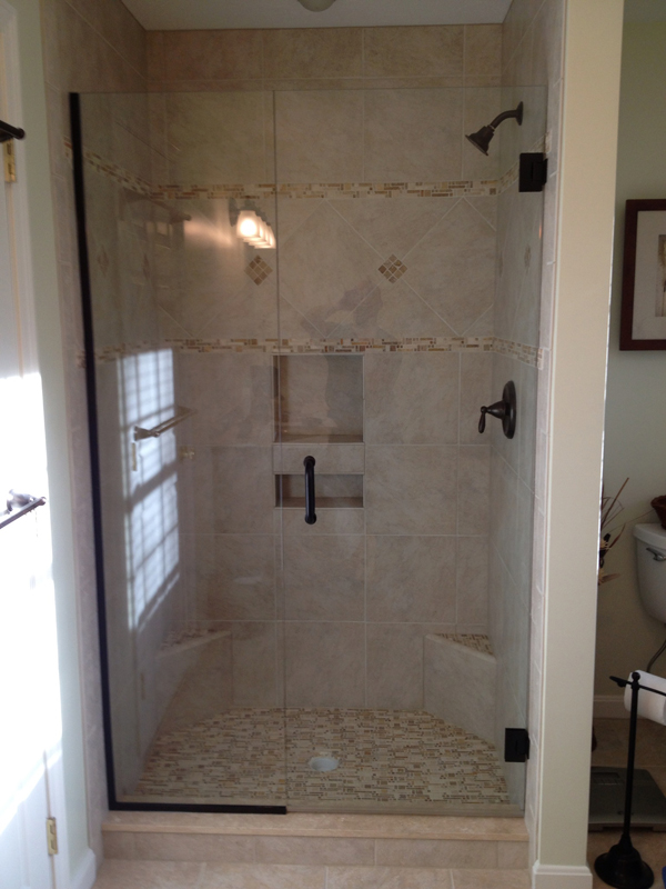 Shower Door - stationary panel