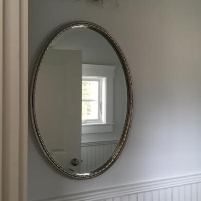 Uttermost beveled oval mirror