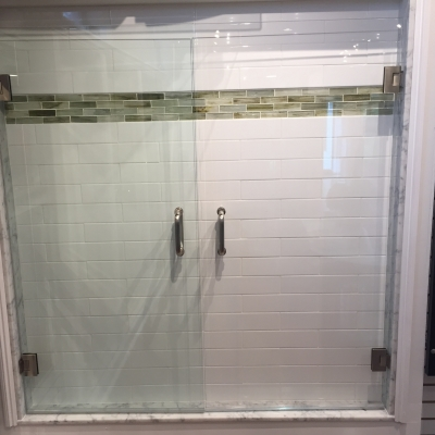 Shower Door - Clear vs Low Iron