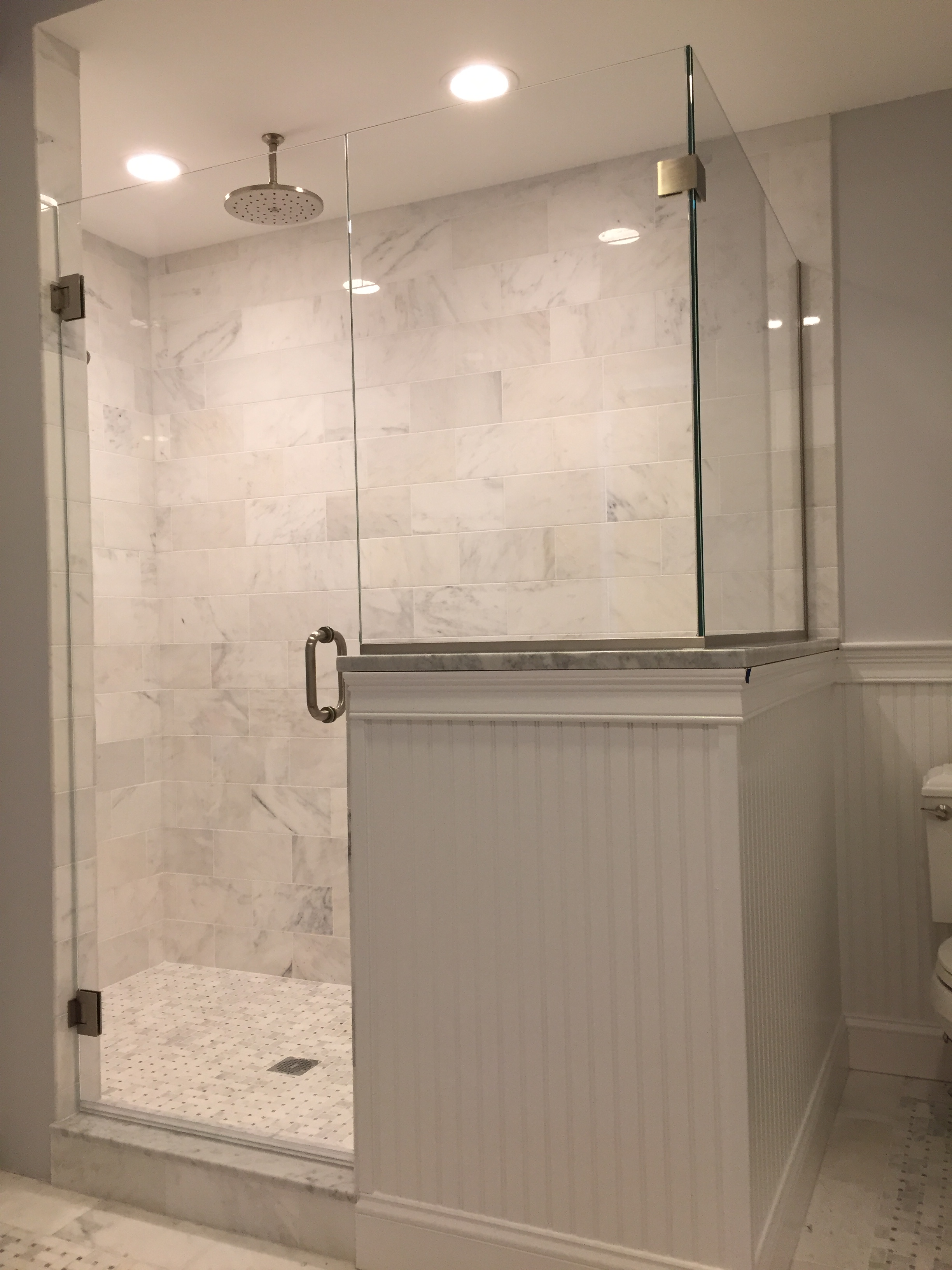 Shower Door - corner & Shower Door Gallery - Franklin Glass Company