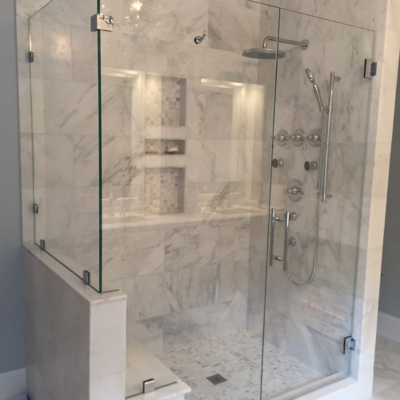 Shower Door - corner