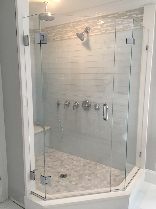 Glass Shower Door Gallery - Franklin Glass Company