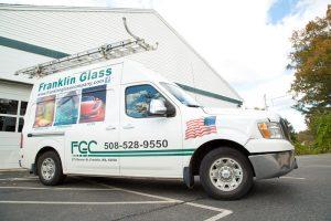 Franklin Glass Company Truck